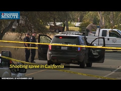 A lone gunman, armed with a semi-automatic rifle and two handguns, killed four people on Tuesday