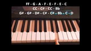 Video Sa'yo - Silent Sanctuary (Piano Tutorial) MP3, 3GP, MP4, WEBM, AVI, FLV Juni 2018