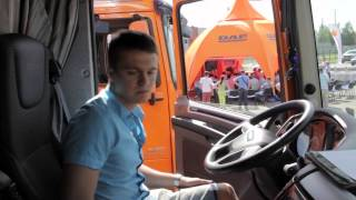 """DAF Trucks Road Show 2014"" Rīgā"