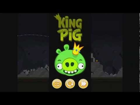 Angry Birds Golden King Pig Walkthrough