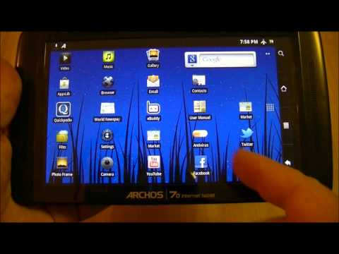 Archos 70 Internet Tablet 250 GB HD Review