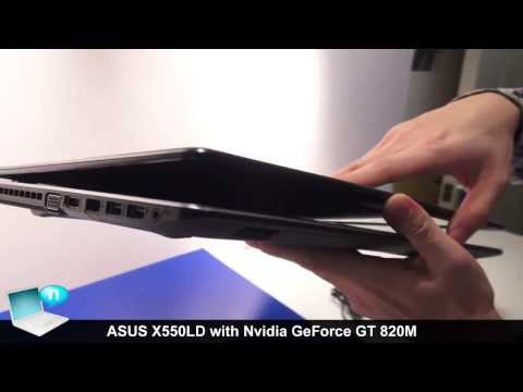 ASUS X550LD Nvidia GeForce GT 820M (ASUS X-series refresh)