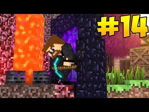 НОВОЕ ПУТЕШЕСТВИЕ #14 - ТЕЛЕПОРТ В ДРУГОЙ МИР - Minecraft