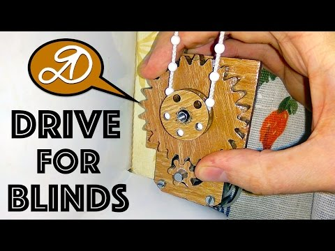 Automatic electric roller blinds on Arduino DIY