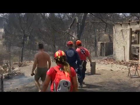 Στους 83 ανήλθαν οι νεκροί από τις καταστροφικές πυρκαγιές (Πυροσβεστική υπηρεσία)…