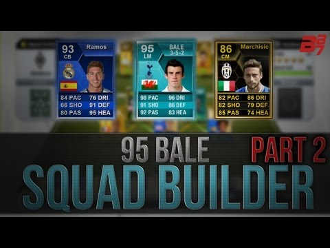 FIFA 13 Ultimate Team - Squad Builder - 95 Bale Player Card And TOTY Ramos Hybrid
