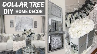 DIY Home Decor Ideas | Dollar Tree DIY Mirror Wall Decor | DIY Glam Decor