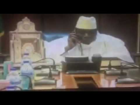 Gambia: Yahya Jammeh Calling President-elect Barro