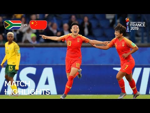 South Africa v China PR - FIFA Women's World Cup France 2019™