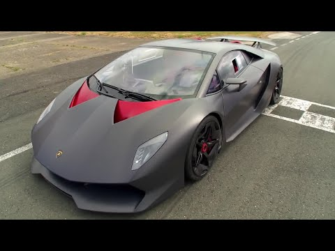 Lamborghini Sesto Elemento – Behind the scenes – Top Gear Series 20