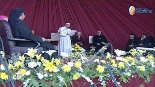 Encuentro con el clero y los Religiosos