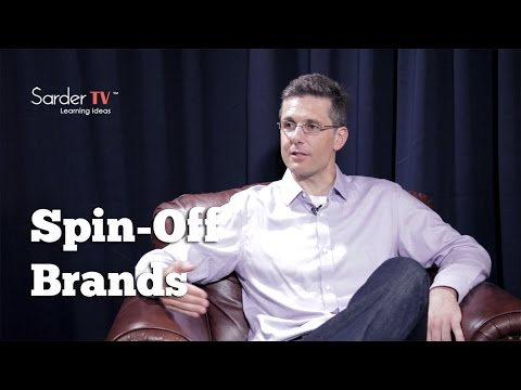 What are the benefits of companies creating spin-off brands? J.P. Eggers