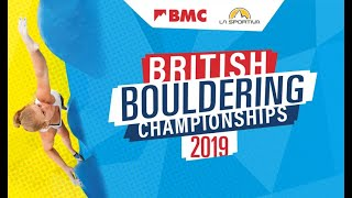 British Bouldering Championships Finals 2019 by teamBMC