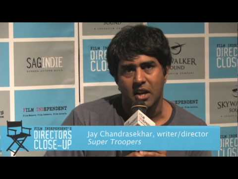 Neil LaBute moderates a Writing and Directing for Comedy panel with Jay Chandrasekhar (3 of 5)