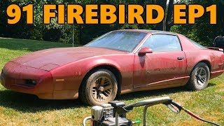 Video New $100 Project Car: 1991 Pontiac Firebird Rescue (Ep.1) MP3, 3GP, MP4, WEBM, AVI, FLV Juli 2019