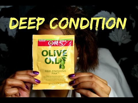 Download DEEP CONDITIONING || ORS REPLENISHING PAK || NATURAL HAIR HD Mp4 3GP Video and MP3