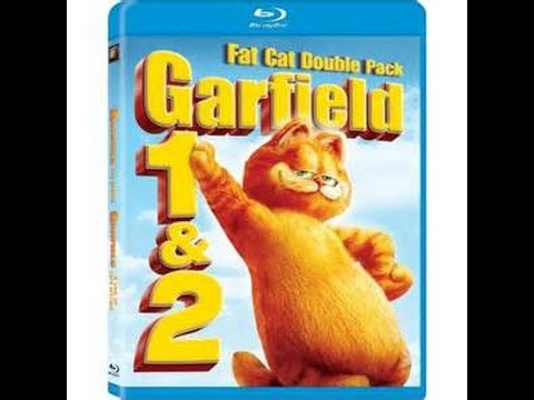 Cat Reviews Garfield 1 And 2 On Blu Ray