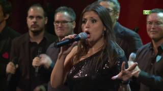 "YO VIVIRÉ ""I WILL SURVIVE"". La Trova cantando a dúo con Cristina Ramos, ganadora del concurso Got Talent España 2016."