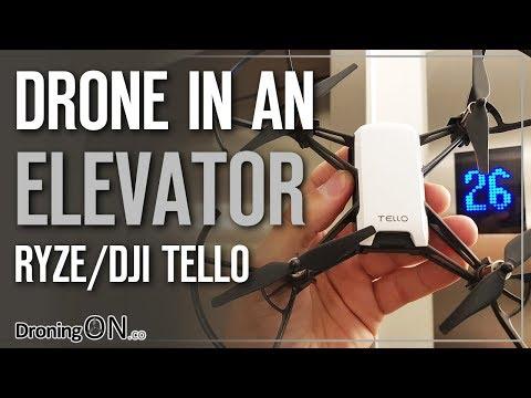 DroningON | Drone In An Elevator/Lift - Ryze/DJI Tello Experiment (видео)