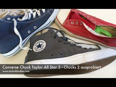 Converse Chuck Taylor All Star 2 - Chucks 2 ausprobiert