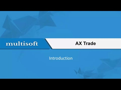 Getting started with AX Trade Online Training