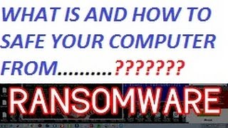 HINDI EXPLAINED ??? WHAT IS AND HOW TO SAFE YOUR COMPUTER FROM WannaCry ransomware