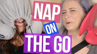 5 Ways to Nap On The Go  (Beauty Break) by Clevver Style