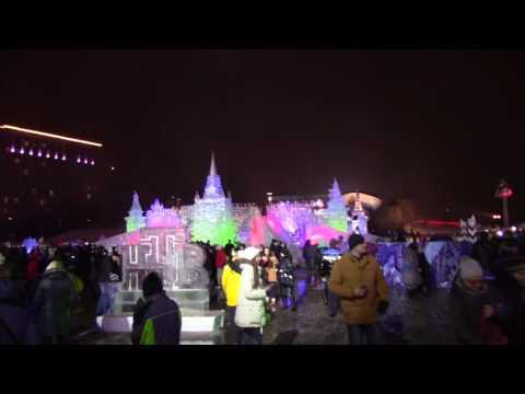 Поклонная Гора/Park Pobedy/Moscow 1.01.2017 (видео)