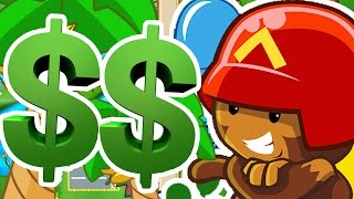 DOUBLE CASH MODE! - BLOONS TOWER DEFENSE BATTLES