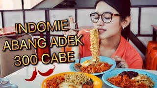 Video INDOMIE ABANG ADEK 300 CABE CHALLENGE | LVL PEDAS MAMPUS ft. Rizky Amalia MP3, 3GP, MP4, WEBM, AVI, FLV Oktober 2017