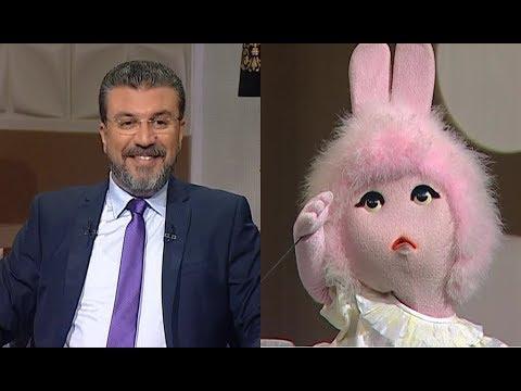 """الدمية """"طمطم"""" تسرق ميكروفون عمرو الليثي"""