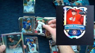 2014 Topps Chrome Baseball Cards