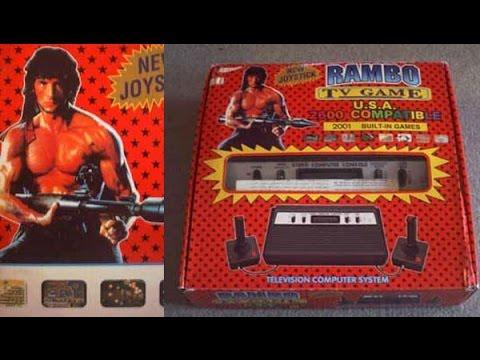в поисках лучшей игры. ATARI 2600 (RAMBO TV GAME).
