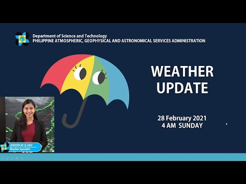 Public Weather Forecast Issued at 4:00 AM February 28, 2021