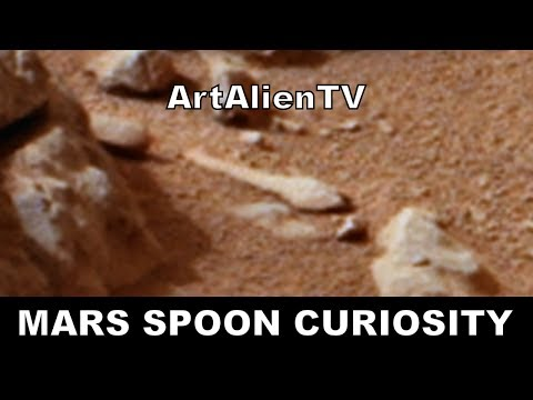 Mars Alien Spoon & Shovel: NASA Curiosity Anomalies: MARS ZOO 2014. (Ishallah) ArtAlienTV 50fps Full