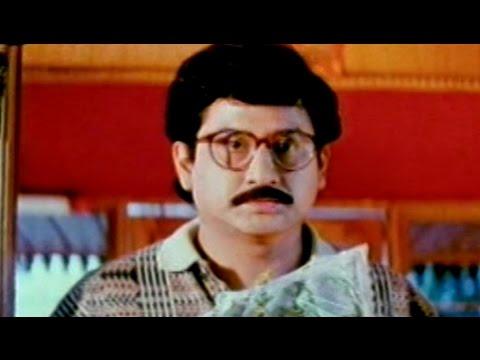 Swarnamukhi Movie    Suman Send Bouquets to Sangavi Comedy Scene    Suman, Sai Kumar, Sangavi