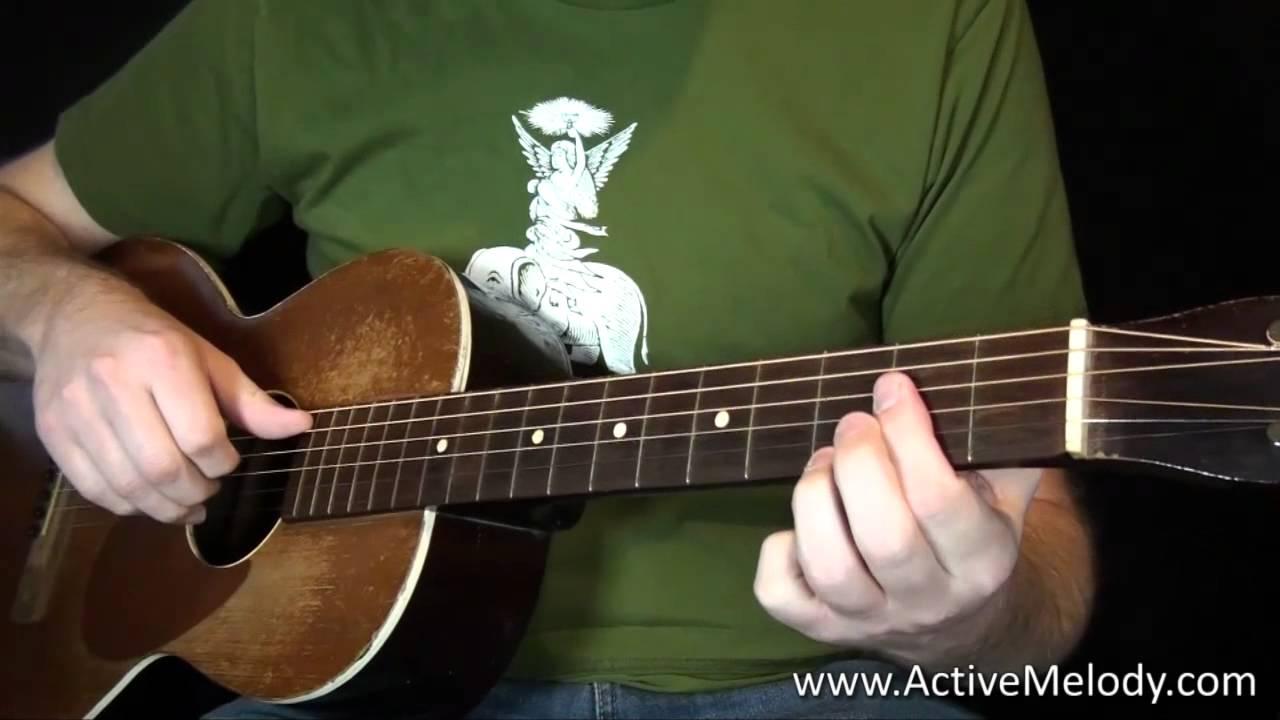 Delta Blues Guitar Lesson – Fingerstyle Like Robert Johnson