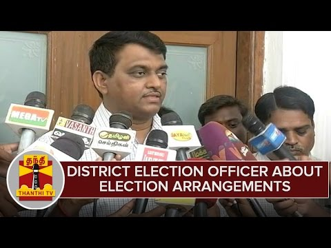 District-Election-Officer-About-Election-Arrangements-Ahead-Of-Assembly-Polls