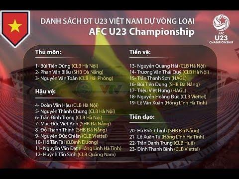 HLV PARK HANG SEO CHỐT DANH SÁCH ĐT U23 VIỆT NAM | VTV24 - Thời lượng: 1:27.