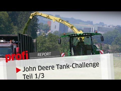 John Deere Tank-Challenge: Teil 1/3 | profi #Report