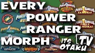 Video Every Morph From MMPR to PRSM   ItsOtakuTV MP3, 3GP, MP4, WEBM, AVI, FLV November 2018