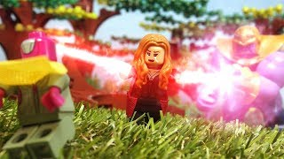 Lego Avengers Infinity War Scarlet Witch Destroys Mind Stone