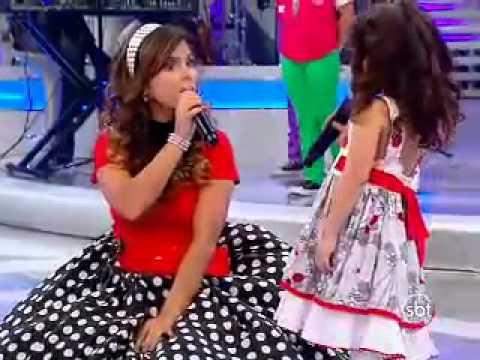 Fico Feliz - Milena & Aline Barros no Programa Raul Gil