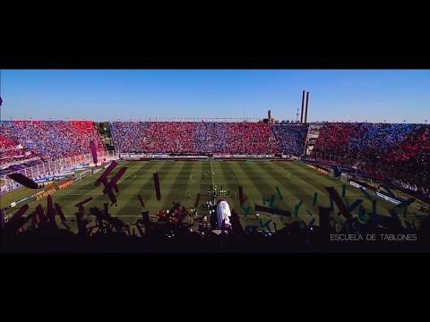 Recibimiento Completo San Lorenzo  50.000 Globos - Escuela de Tablones - La Gloriosa Butteler - San Lorenzo