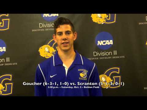 Men's Soccer Spotlight - Nate Margolis - 10/3/13