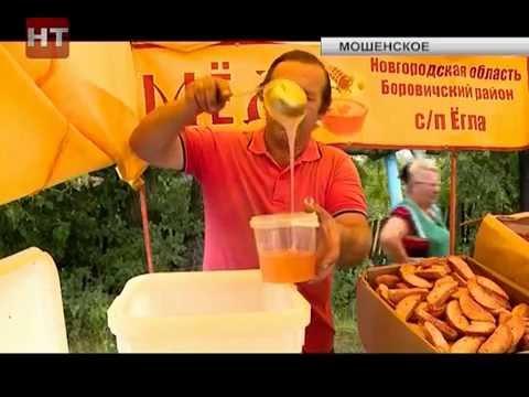 Жители Мошенского отметили сразу две праздничных даты