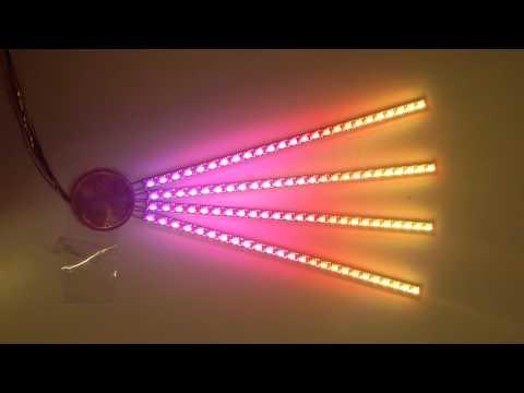 RGB Miniatur Lichtleiste Test 2