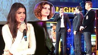 Watch Anushka Sharma's reaction on Kangana Ranaut's nepotism comment insult by Varun Dhawan, Karan Johar and Saif Ali Khan at IIFA awards 2017 in New York. For More Updates:Subscribe to: https://www.youtube.com/user/movietalkiesLike us on: https://www.facebook.com/MovieTalkiesFollow us on: https://twitter.com/MovieTalkiesFollow us on: https://www.instagram.com/movietalkies/