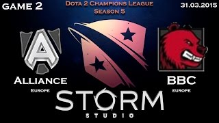 BBC vs Alliance, game 2