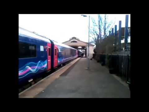 First Great Western HST depart from Frome